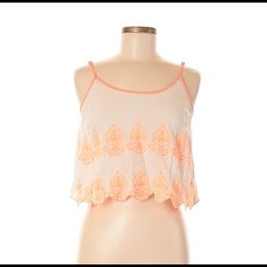 Flying Tomato Embroidery Top